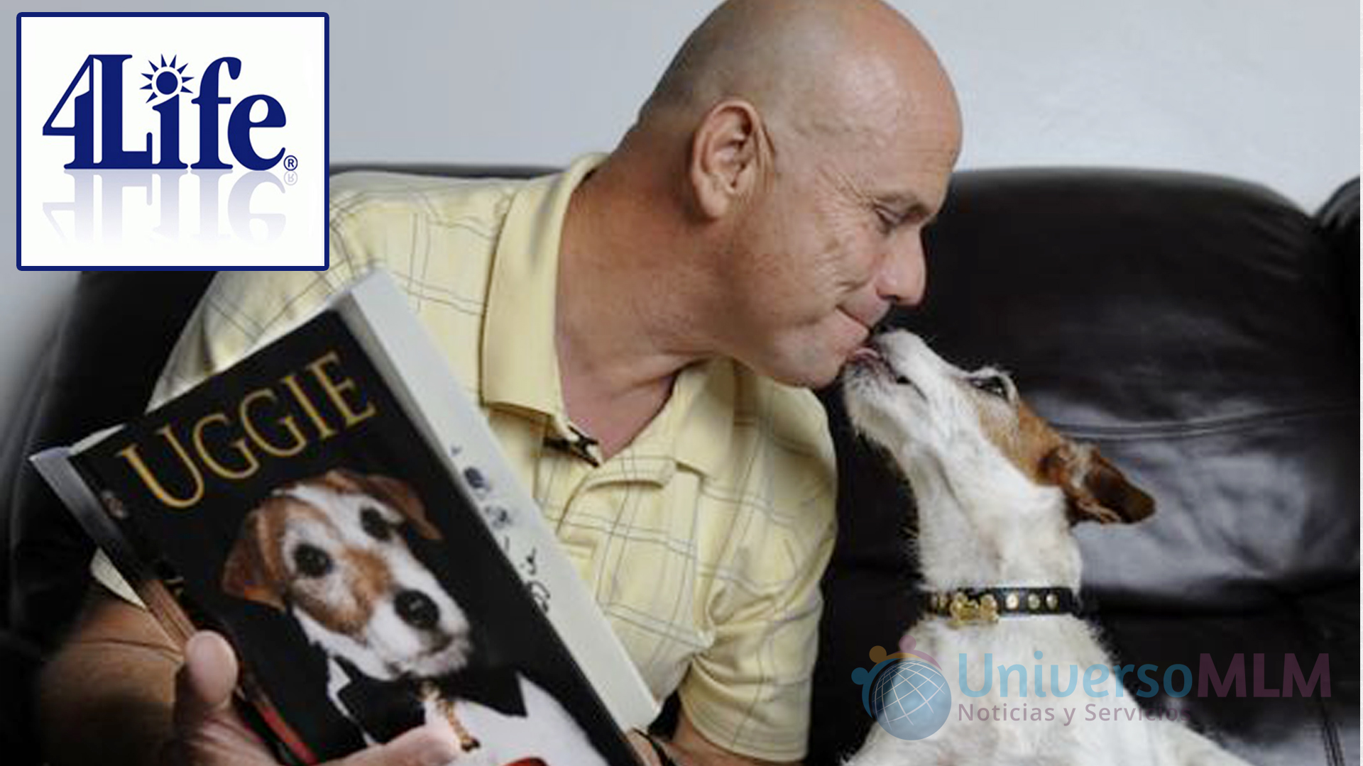 Uggie, el famoso perro del cine, consume 4Life