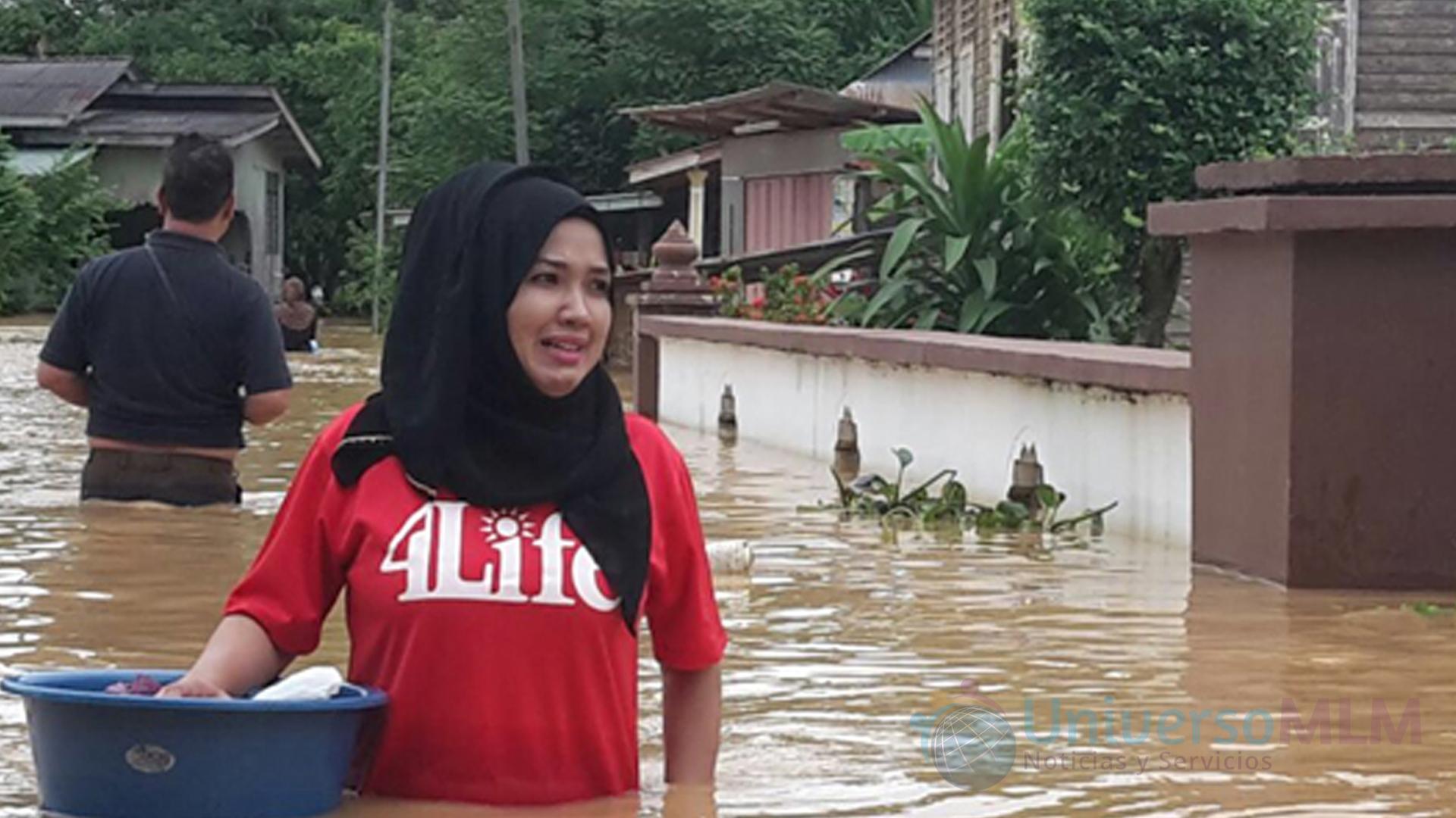 Imágenes de las inundaciones en Malasia