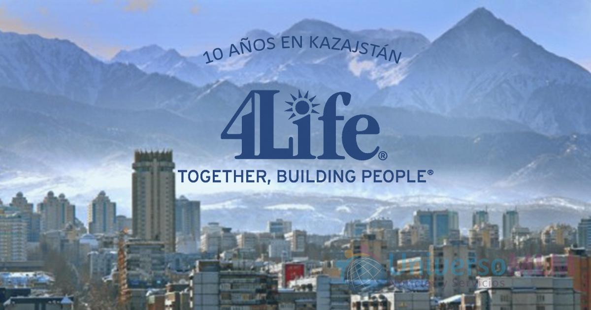 4Life, 10 años en Kazajstán