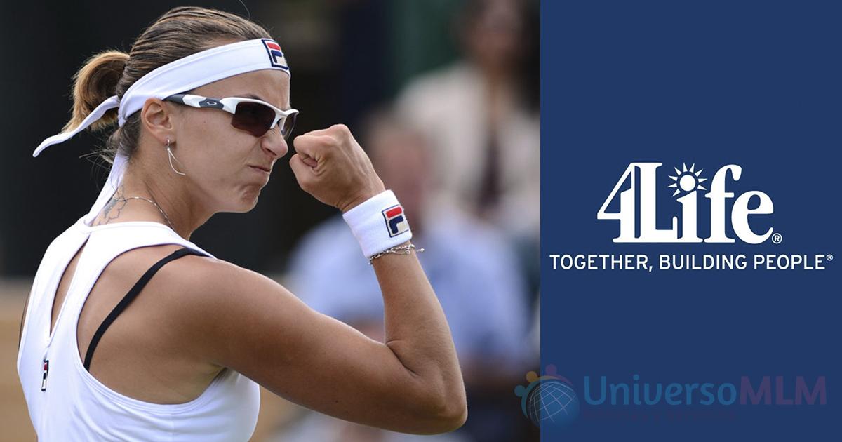 La tenista Yaroslava Shvedova, nuevo fichaje de 4Lfe