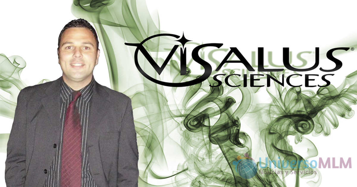 Alejandro Mateo, líder en Visalus