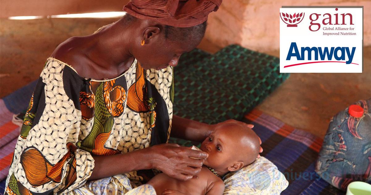 Amway y GAIN contra la desnutrición