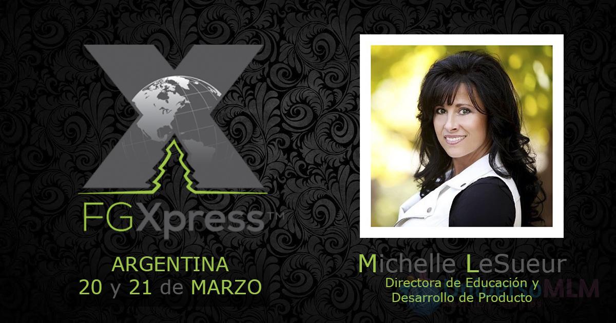 Michelle LeSueur da evento en Argentina