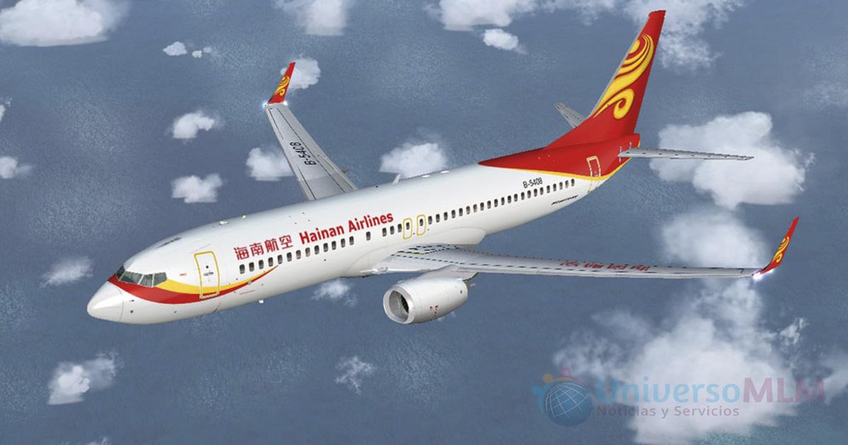 Hainan Airlines logra volar con aceite usado como combustible