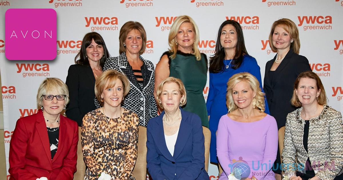 Miembros de la YWCA, asociación que lucha contra el cáncer