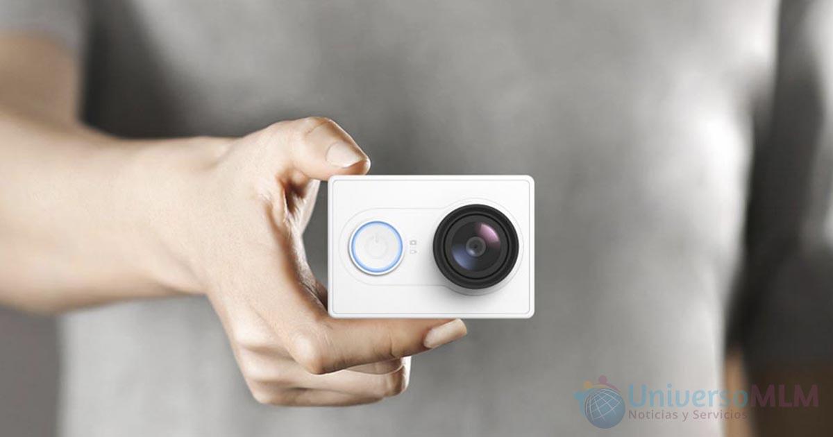 Nueva cámara Yi Action de Xiaomi