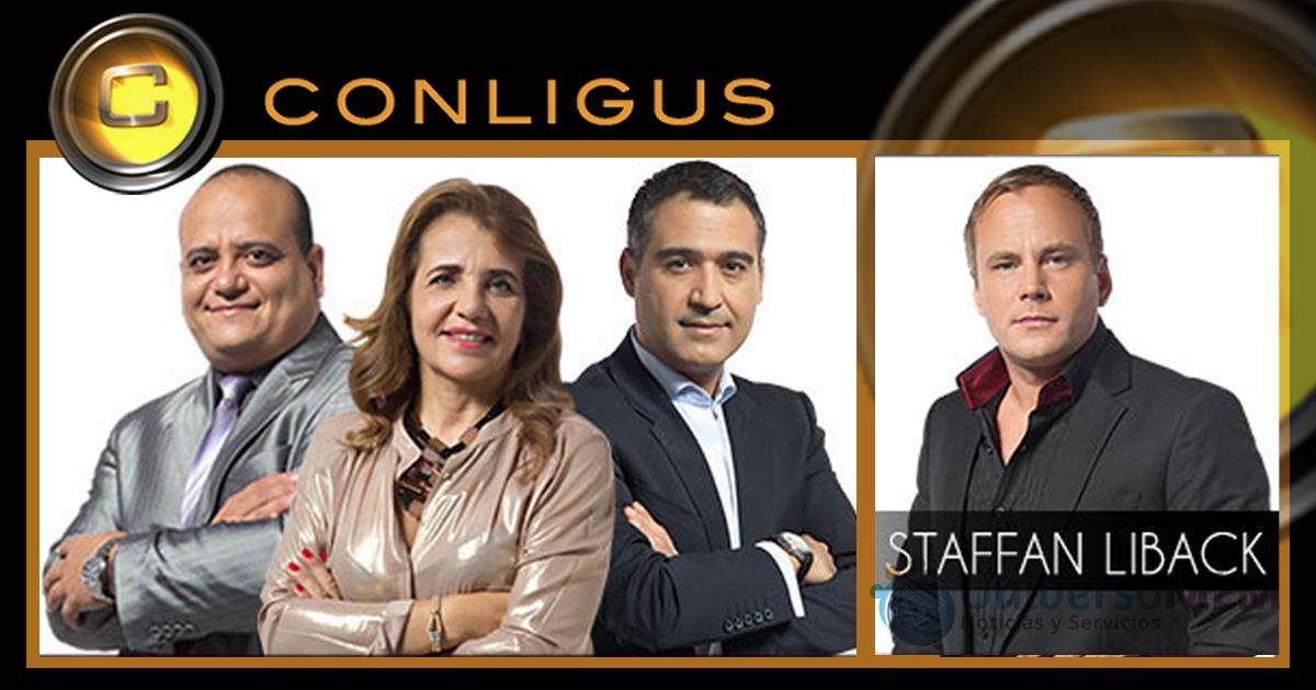 Los líderes de Conligus que imparten formación hoy
