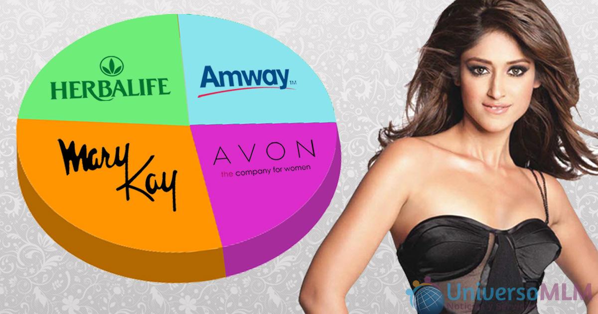 Las grandes marcas de cosméticos en venta directa, compiten