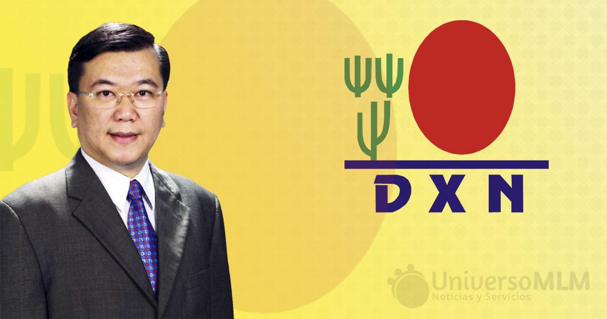 El Dr. Lim, fundador de DXN