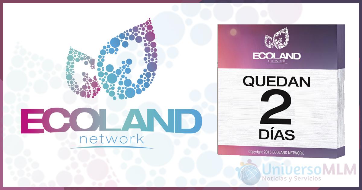 Empresas: Ecoland Network lanza su oportunidad de negocio el próximo domingo