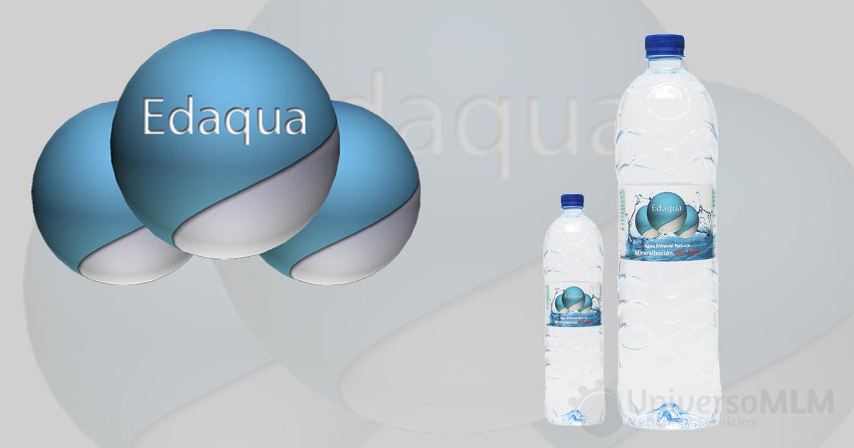 Edaqua comercializa agua mineral