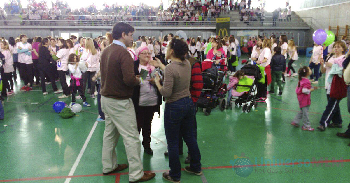 Multitud en el evento