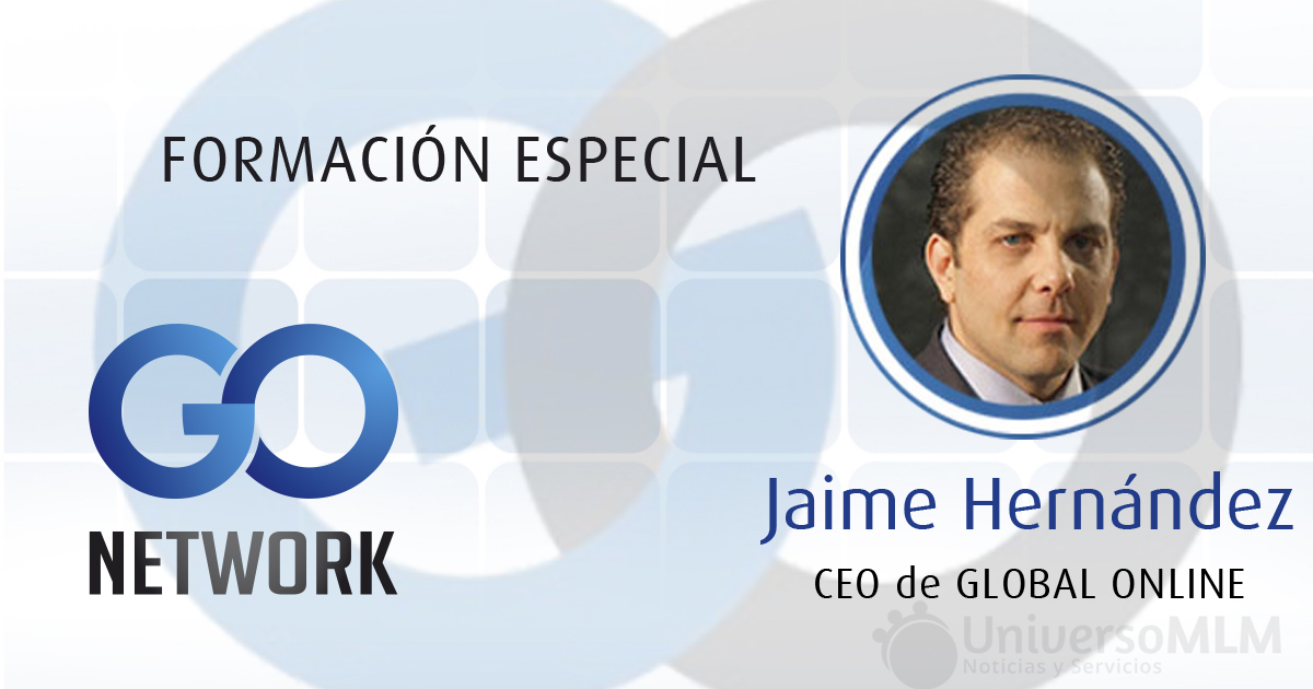 Jaime Hernández, CEO de Global Online