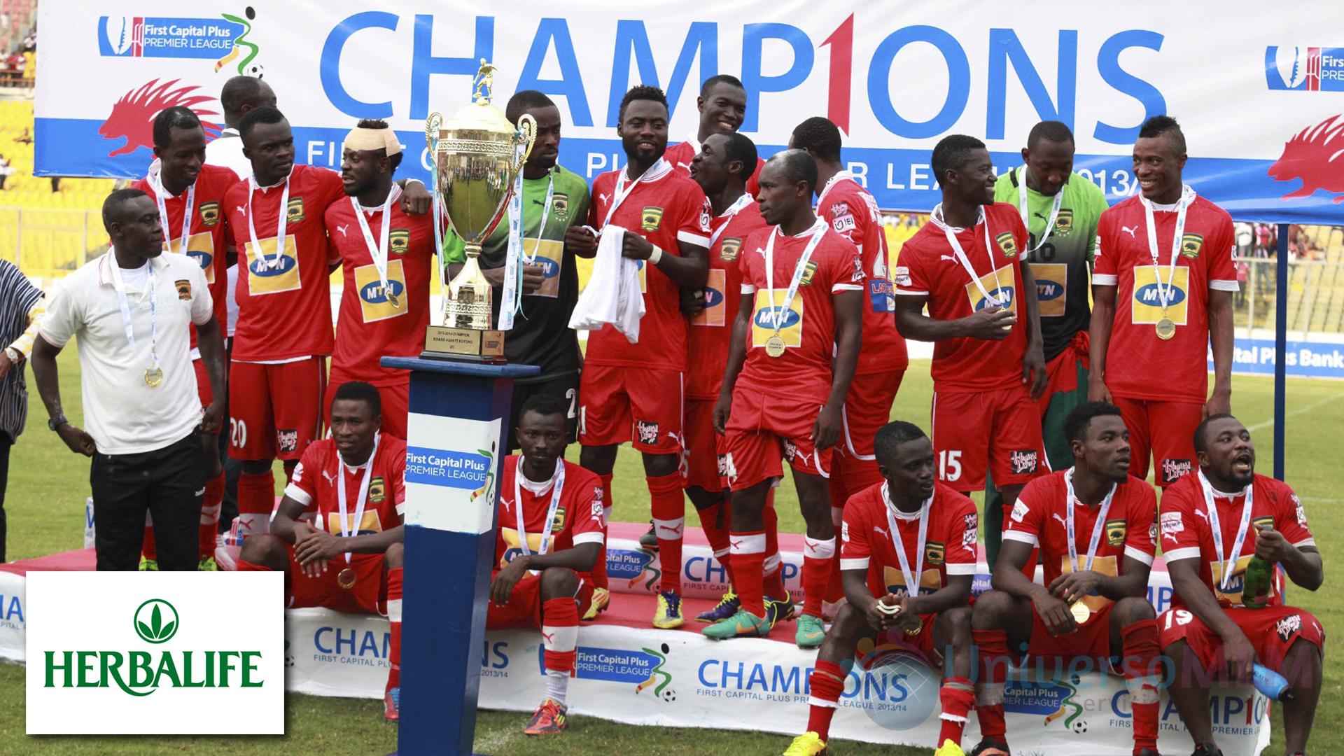 Asante Kotoko, campèón de liga de Ghana