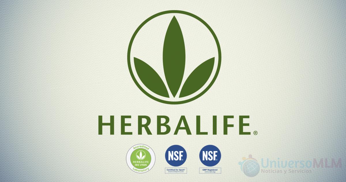 Herbalife recibe certificaciones ISO y NSF