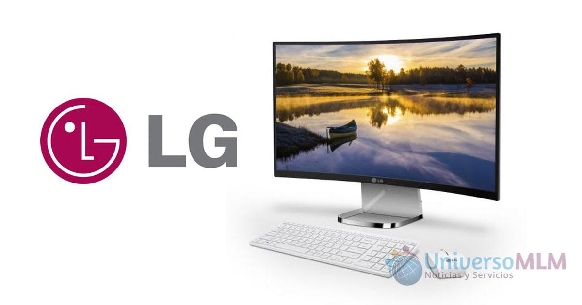 La nueva pantalla curva de LG