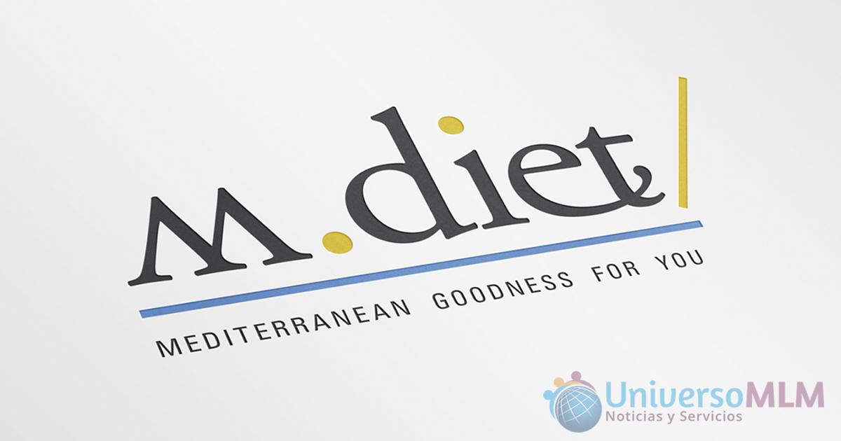 M.Diet introduce productos de la dieta mediterránea en MLM