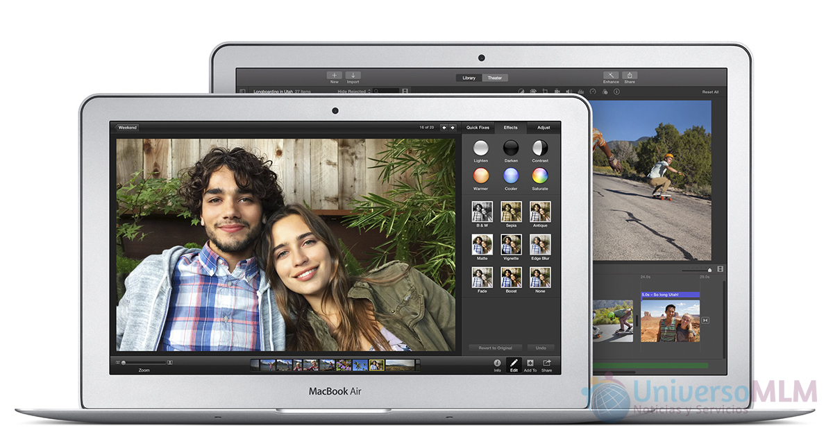 Apple actualiza el MacBook Pro con pantalla Retina de 13 y el MacBook Air