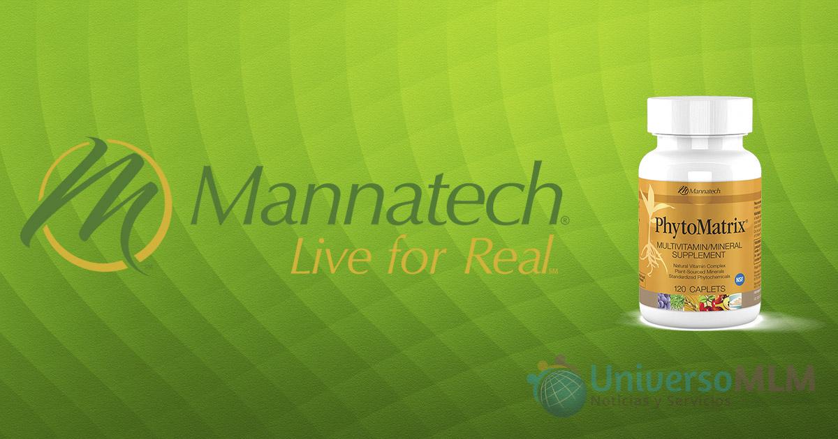 Mannatech patenta su formulación PhytoMatrix