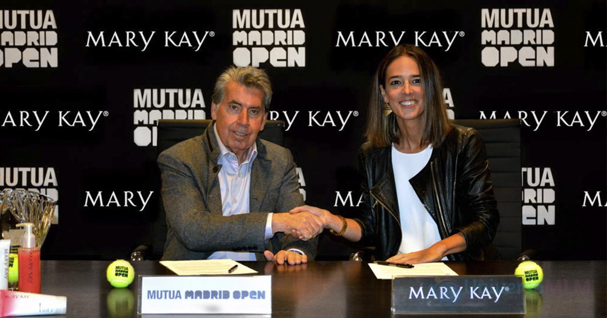 Acuerdo entre el Mutua Madrid Open y Mary Kay