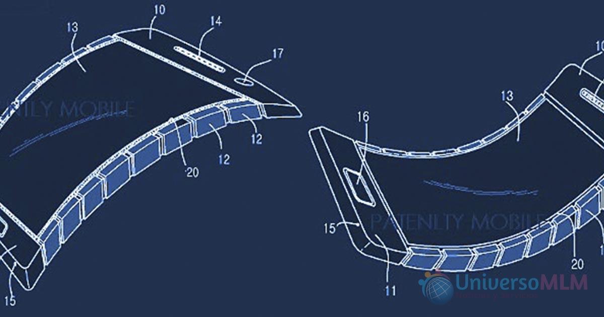 Samsung patenta un smartphone con cuerpo y pantalla flexibles