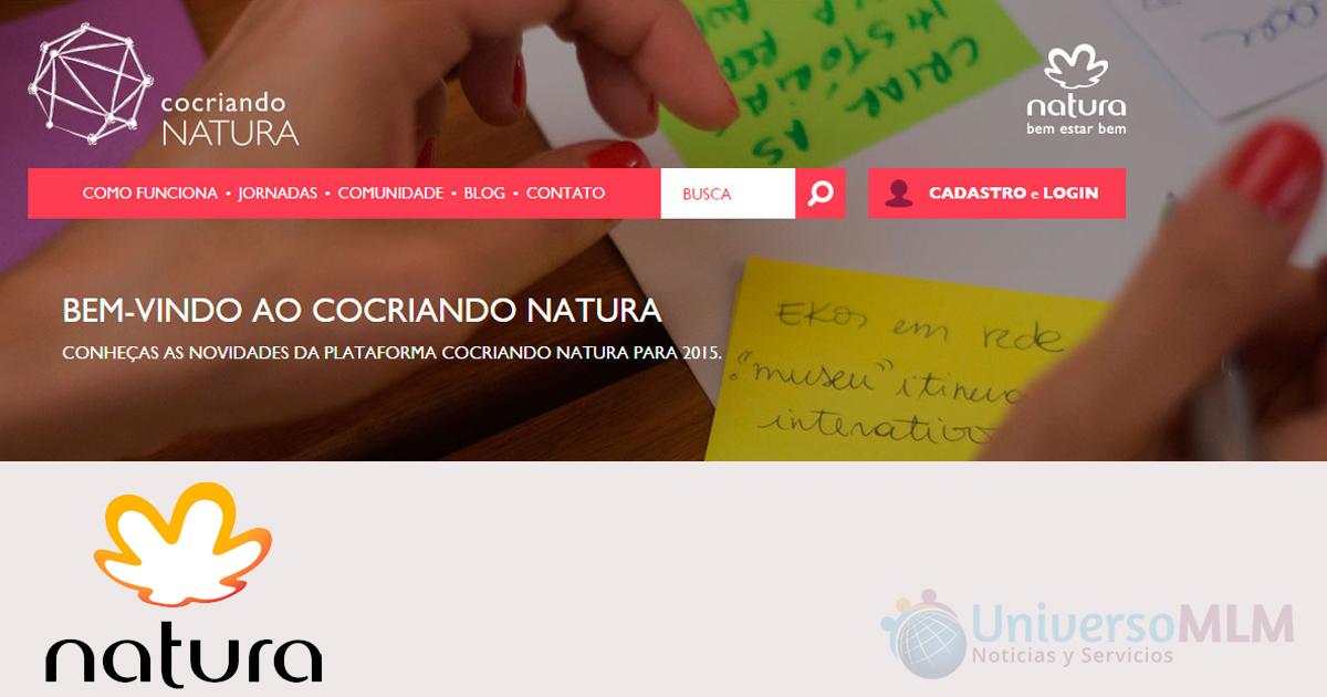 Plataforma de cocreación en Natura