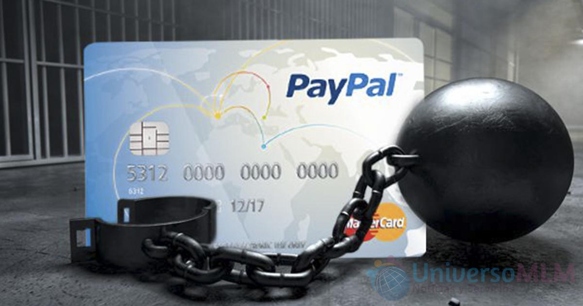 Los usuarios con tarjeta PayPal en España tienen el dinero retenido