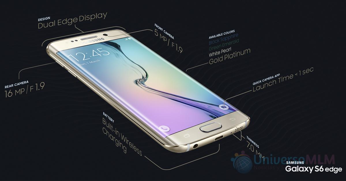 Samsung presenta oficialmente los Galaxy S6 y Galaxy S6 Edge