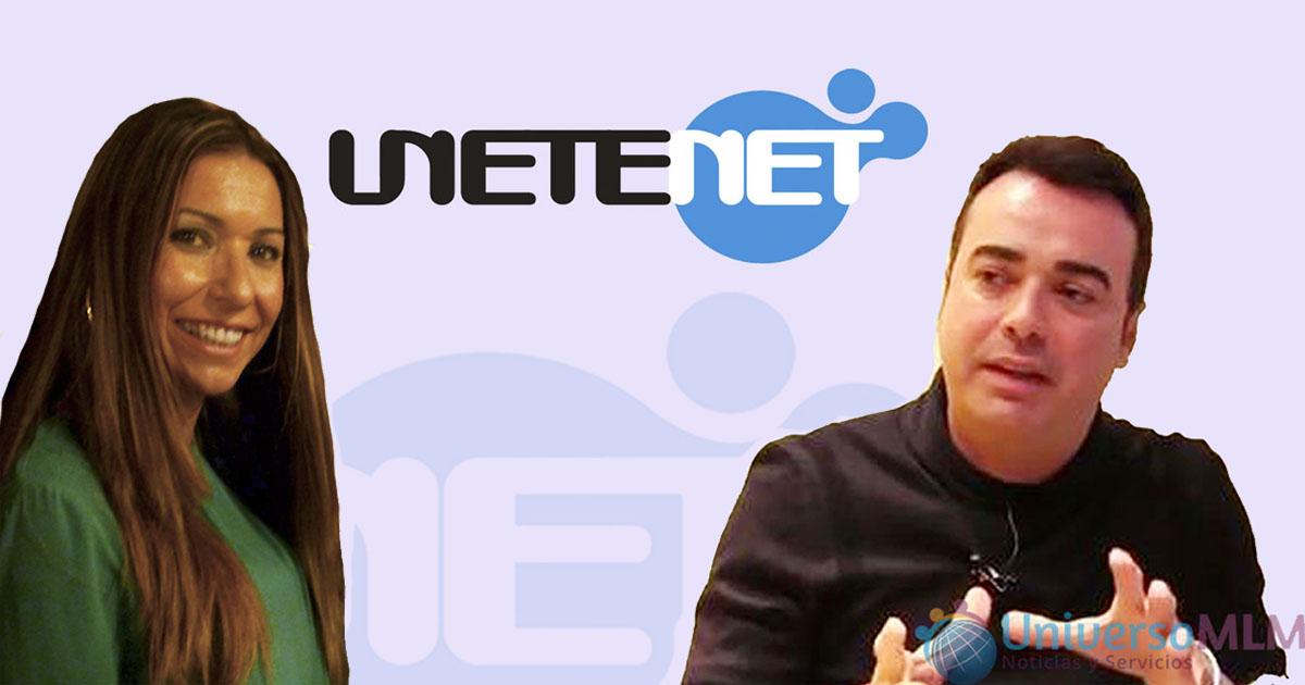 Pilar Otero y José Manuel Ramírez, fundadores de Unetenet