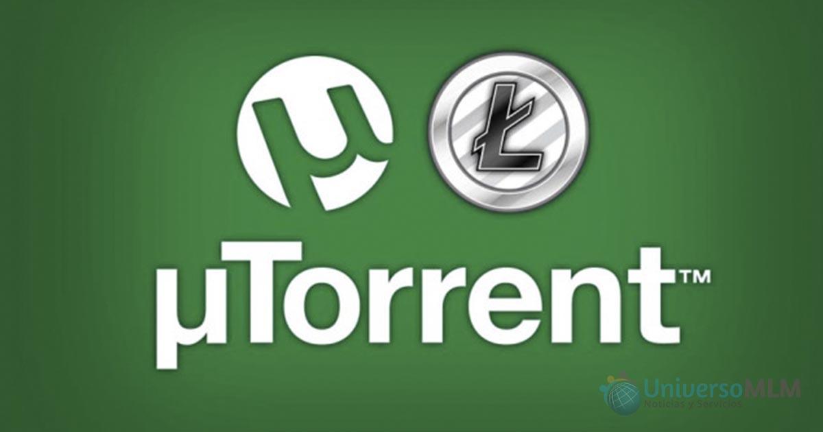 µTorrent instala un programa que usa tu ordenador para minería de Litecoin