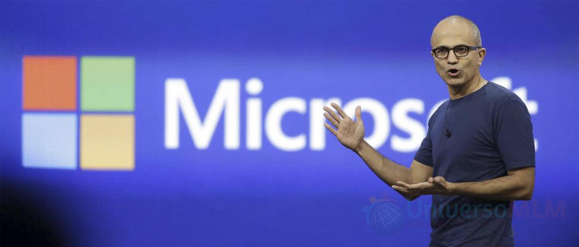 CEO de Microsoft, Satya Nadella
