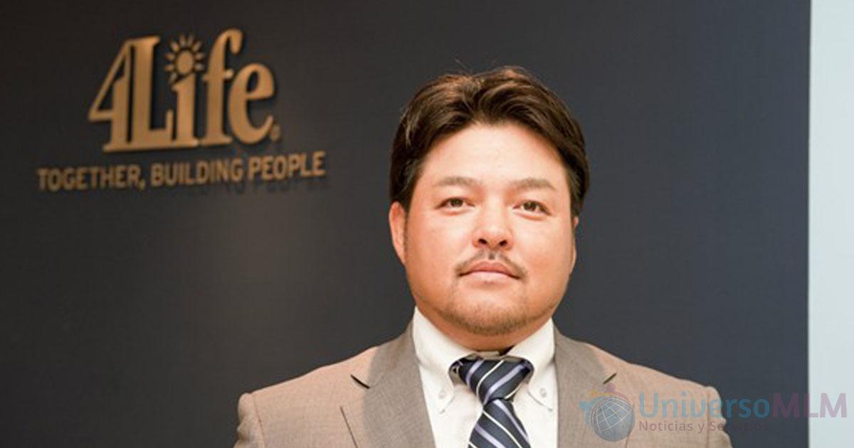 Yuichi Arima, Gerente General de 4Life Japón