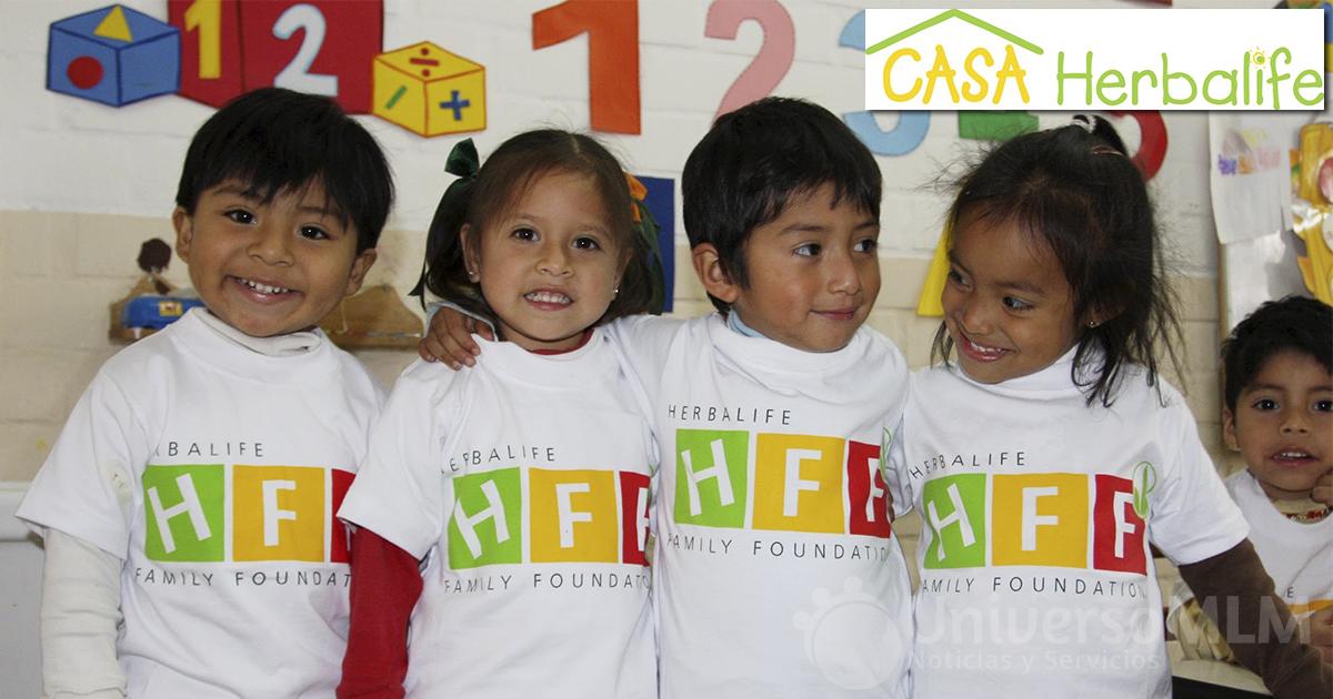 Herbalife, una empresa solidaria con la infancia