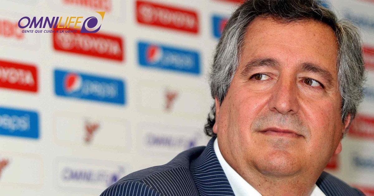 Jorge Vergara, propietario del Grupo Omnilife-Chivas
