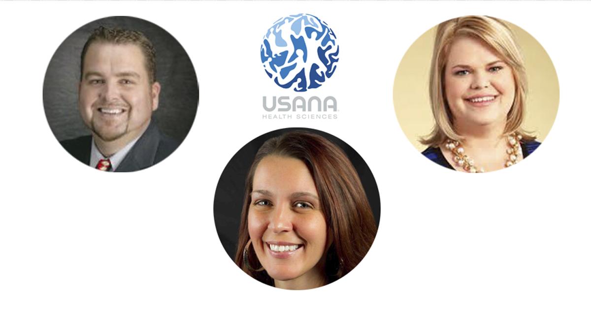 USANA ha nombrado tres nuevos vicepresidentes