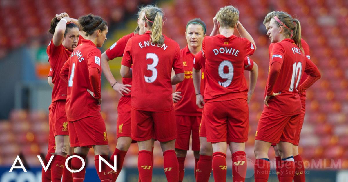 El equipo femenino del Liverpool en la Premier League