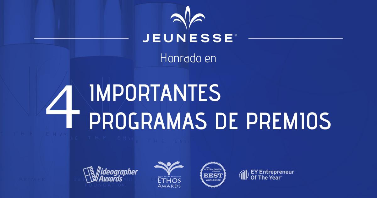 Empresas: Jeunesse es reconocida como empresa del año en los Golden Bridge Awards