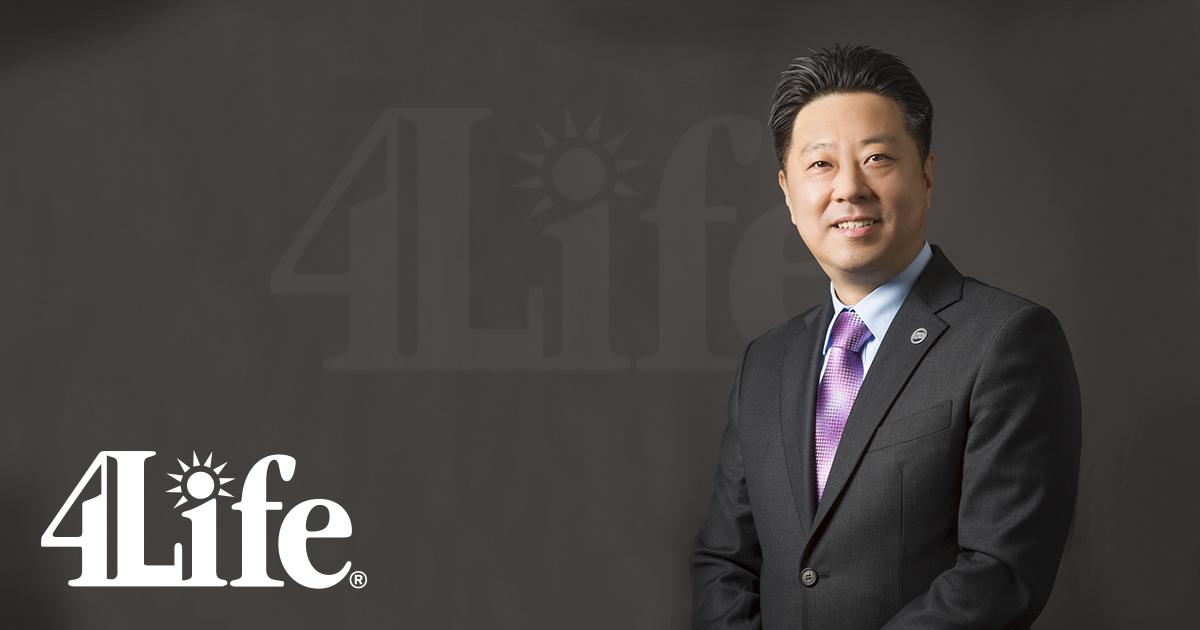 Tony Lee, nuevo vicepresidente de 4Life en el norte de Asia