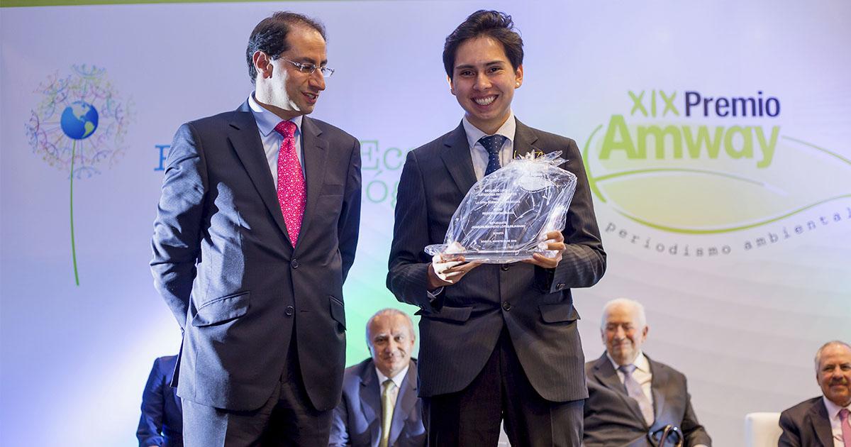 Segundo Premio de la edición de los premios Amway Periodismo en 2016