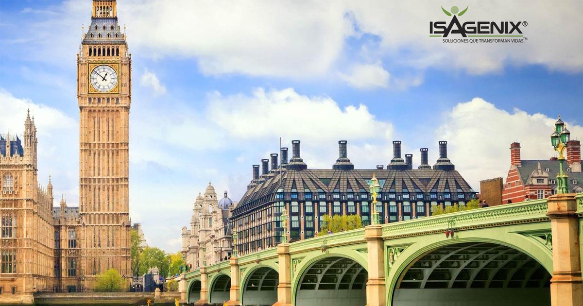 Isagenix, prepara su lanzamiento en Reino Unido