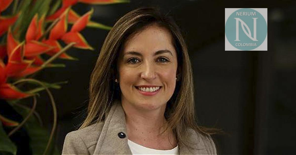 Adriana Sarmiento, gerente general de Nerium Colombia