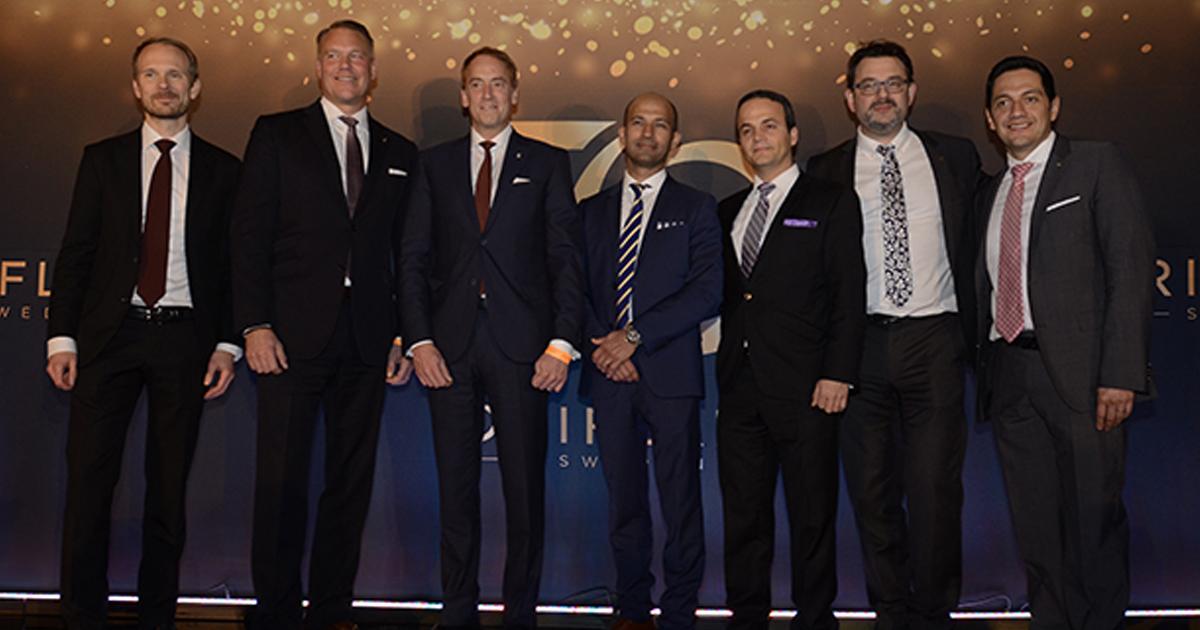 Los altos ejecutivos de Oriflame se reunieron para celebrar 50 años de la compañía