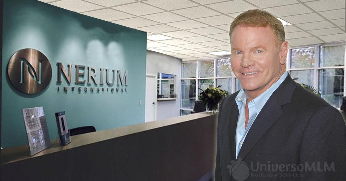 Jeff Olson, fundador y CEO de Nerium