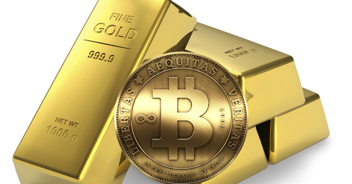 Bitcoin supera el valor del oro