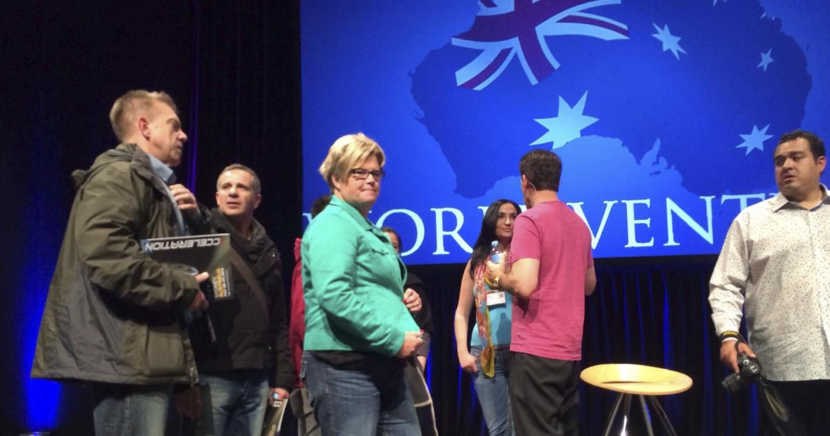 Unos 3.000 asistentes en el evento de WorldVentures en Australia