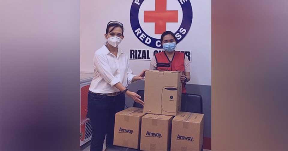 Empresas: Amway Filipinas realiza importantes donaciones a la lucha contra el COVID-19