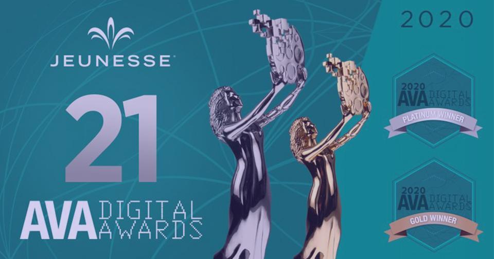 Empresas: Jeunesse gana más de 20 premios en los 2020 AVA Digital Awards