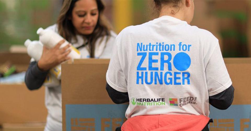 Empresas: La iniciativa Zero Hunger de Herbalife Nutrition se suma a la lucha contra el virus COVID-19.