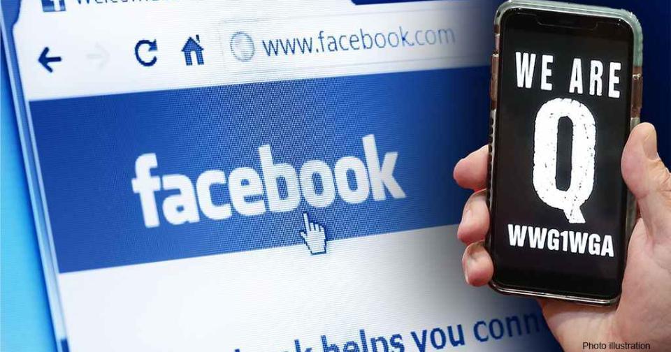 Viral: Facebook refuerza las medidas contra el grupo QAnon