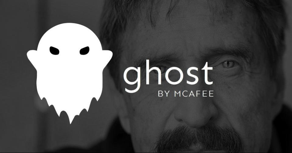 Criptomonedas: Ghost dice adiós a John McAfee